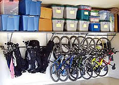 Organized garage - after